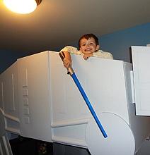Epic Custom Made Star Wars AT-AT Bunk Bed