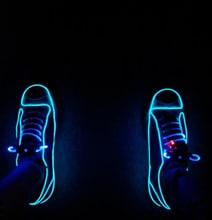 Neon Light Converse Sneakers