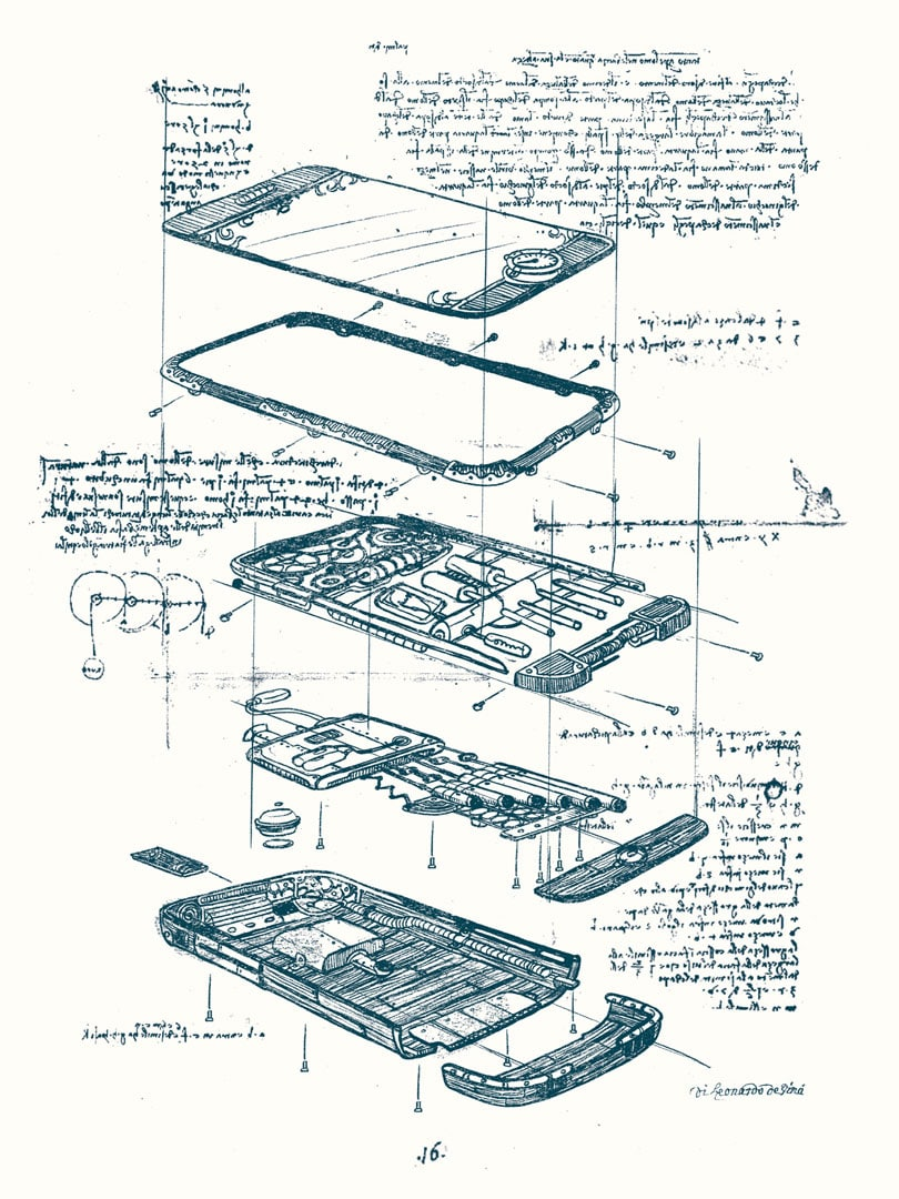 The iPhone & 1984 Mac If Leonardo da Vinci Created Them
