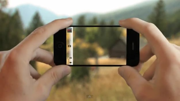 iPhone 5 Commercial: If It Had A Transparent Screen