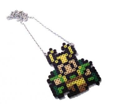 Loki Perler Bead Necklace