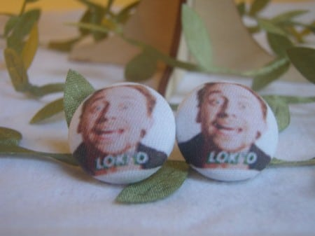Tom Hiddleston Loki'd Earrings