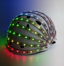 LumaHelm: A Safety Disco Head Dome For Cyclists