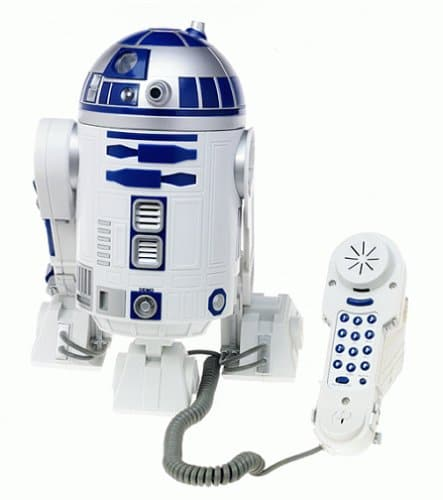 R2-D2 Novelty Phone Puts More Retro In Your Life