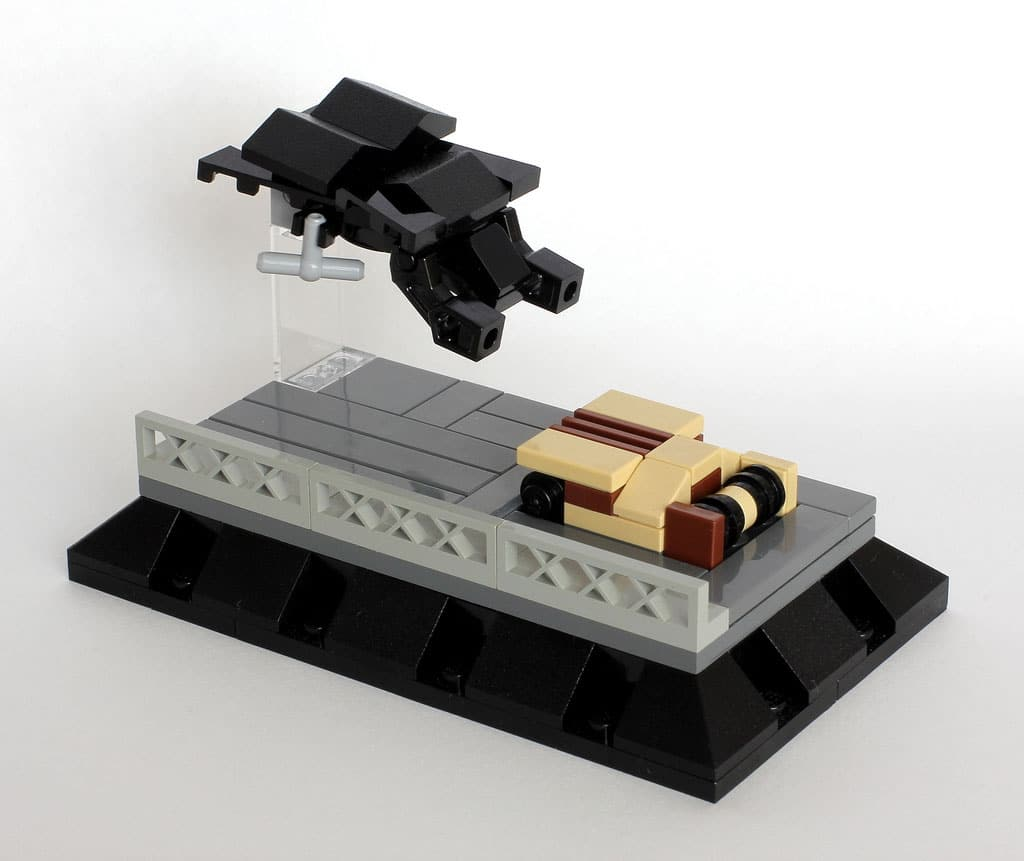 18 Micro Sci-Fi Movie Dioramas Recreated In Lego