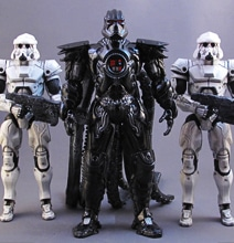 The All New Star Wars Cyberpunk Figurines