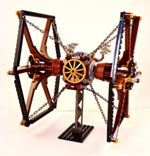 Skillful Steampunk Lego Star Wars Spaceships