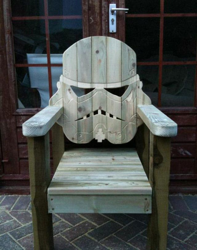 Stormtrooper Lawn Chair Relax In Style This Summer Bit