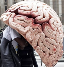 The Super Brain Phone Booth Protects You With Brain Matter