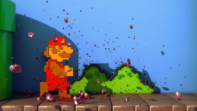 The Modern Gory Super Mario Console Game Version