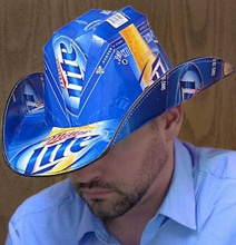 Finally! Some Decent Cowboy Hats Made From Beer Boxes