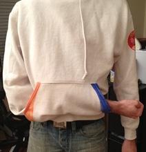 DIY Portal Sweatshirt Complete With Teleporting Illusion