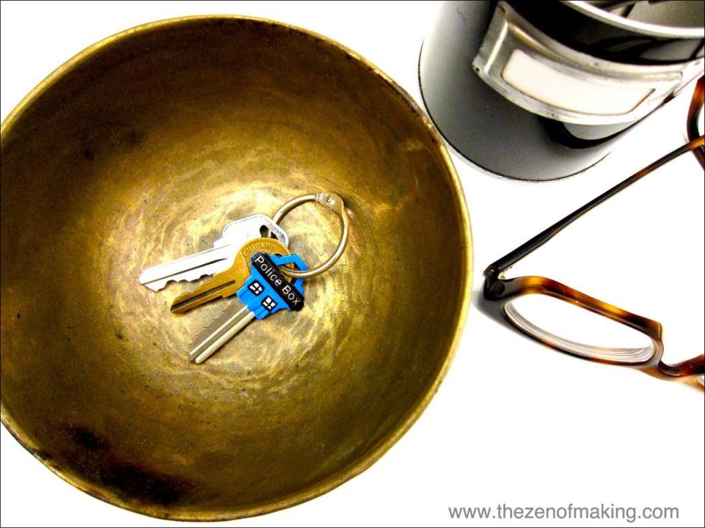 Transform Your Boring House Key Into A Geeky TARDIS Key