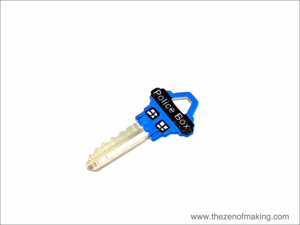 DIY-TARDIS-house-key