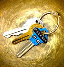 Transform Your Boring House Key Into A Geeky TARDIS Key