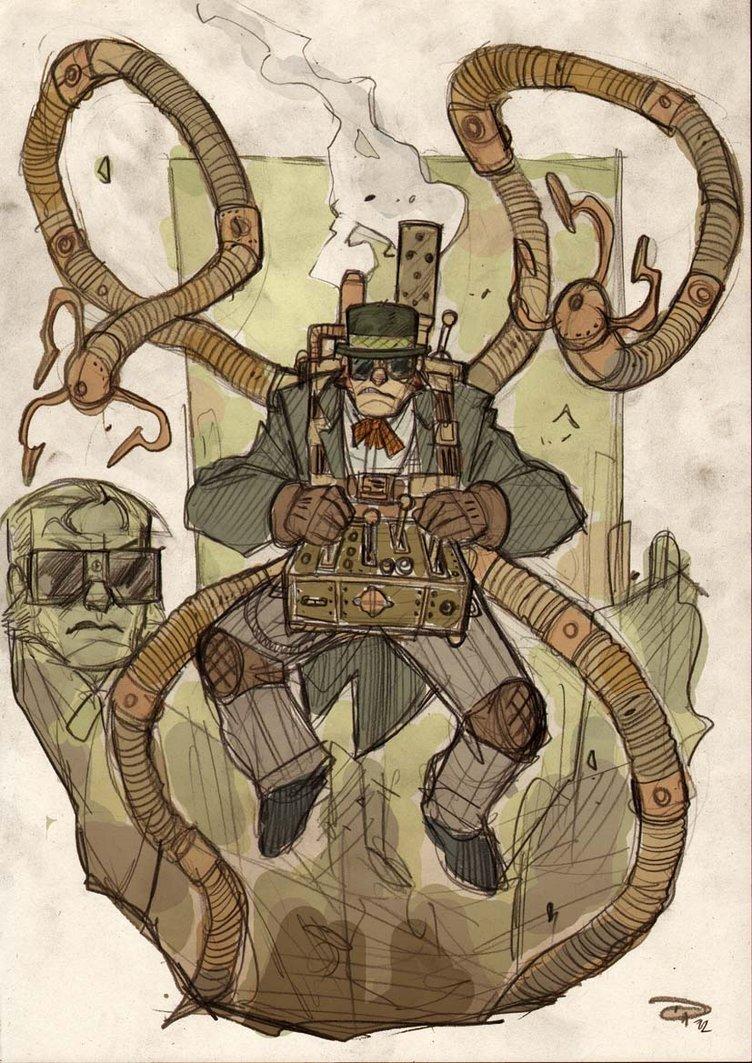 Doctor Octopus Steampunk Denis Medri