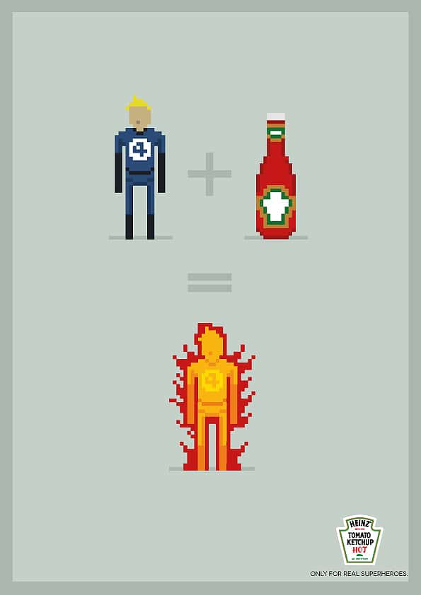 Ketchup Can Transform Ordinary People Into Superheroes