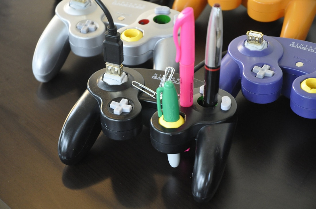Nintendo-Inspired-Office-Supplies