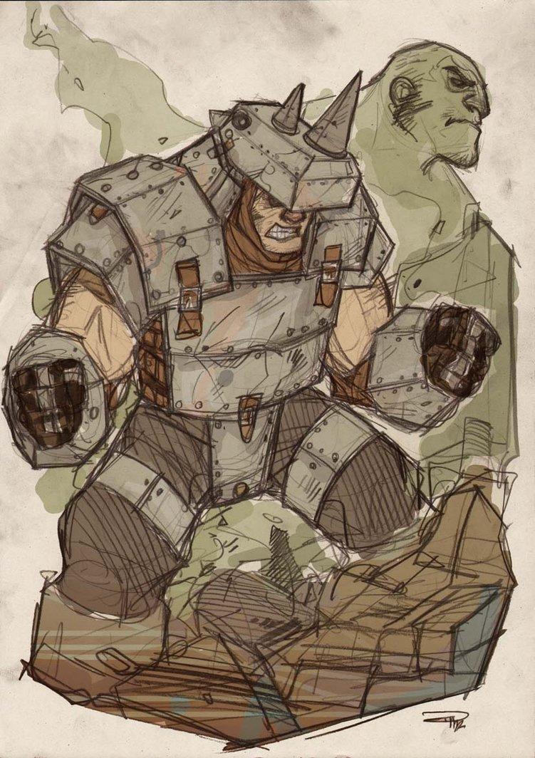 Rhino Concept Steampunk Denis Medri