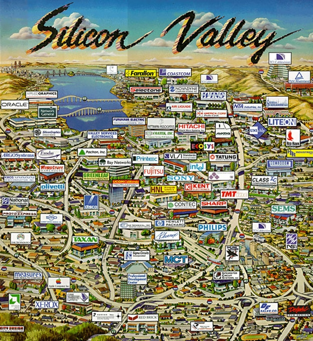 Silicon-Valley-Tech-Companies-Map