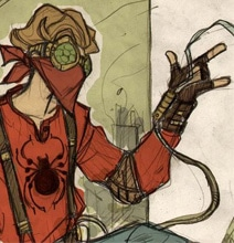 7 Steampunk Spider-Man Concepts