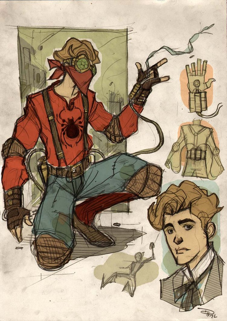 Spider-Man Steampunk Denis Medri