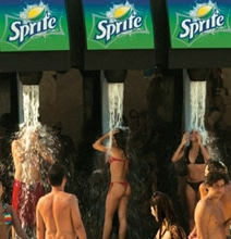 Sprite Showers: The Most Refreshing Ad Campaign On The Beach