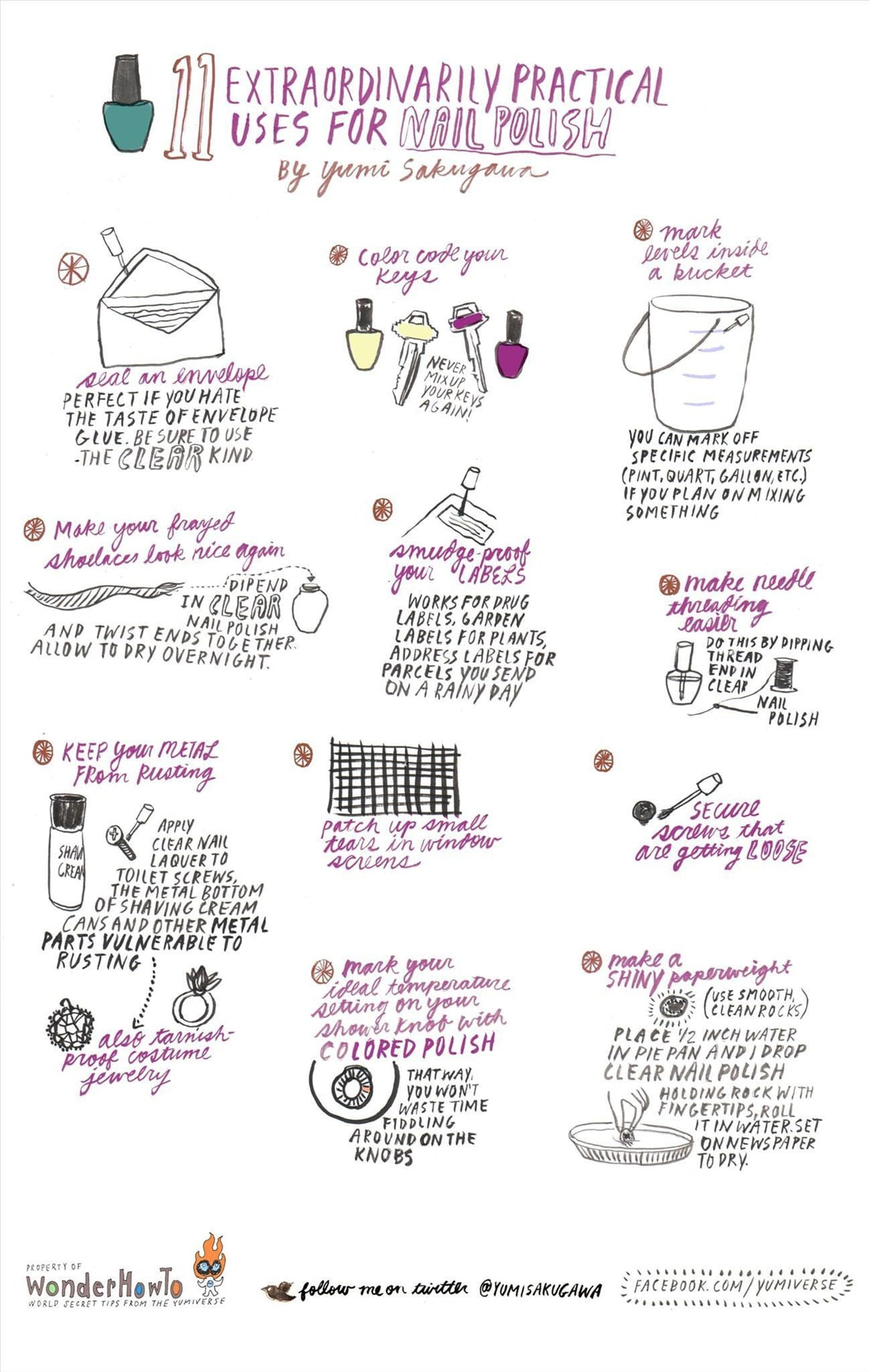 Uses-For-Nail-Polish-Infographic