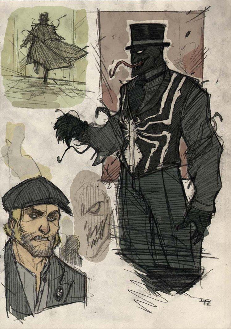 7 Steampunk Spider-Man Concepts