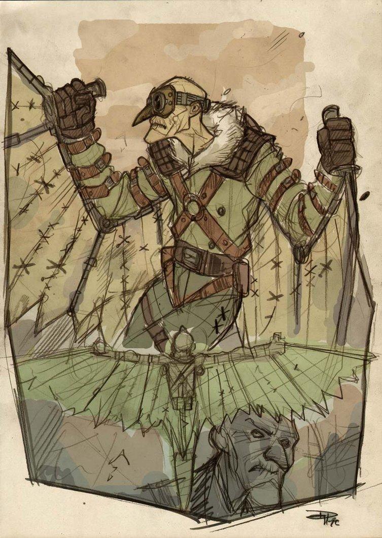 Vulture Concept Steampunk Denis Medri