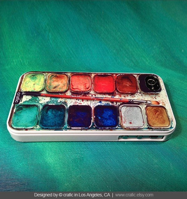 The Used Watercolor Set iPhone Case For The Artist In Your Life