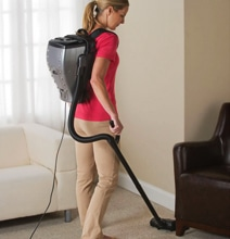 Backpack Vacuum Enables Ghostbuster Style Cleaning