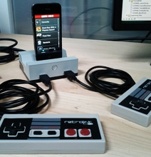GameDock: iPhone Dock Brings Back The Retro NES Gaming Days