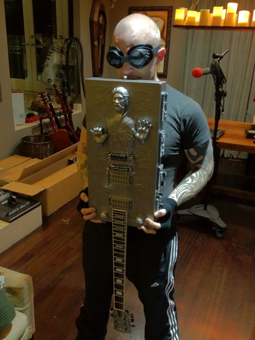 Han Solo In Carbonite Guitar Custom Build