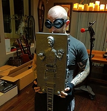 Han Solo In Carbonite Guitar Custom Build