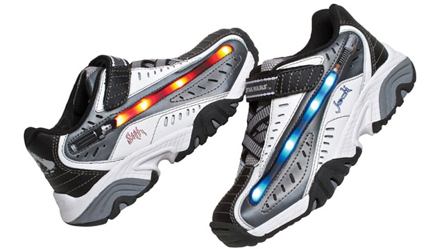Lightsaber Sneakers Light Up The True Path