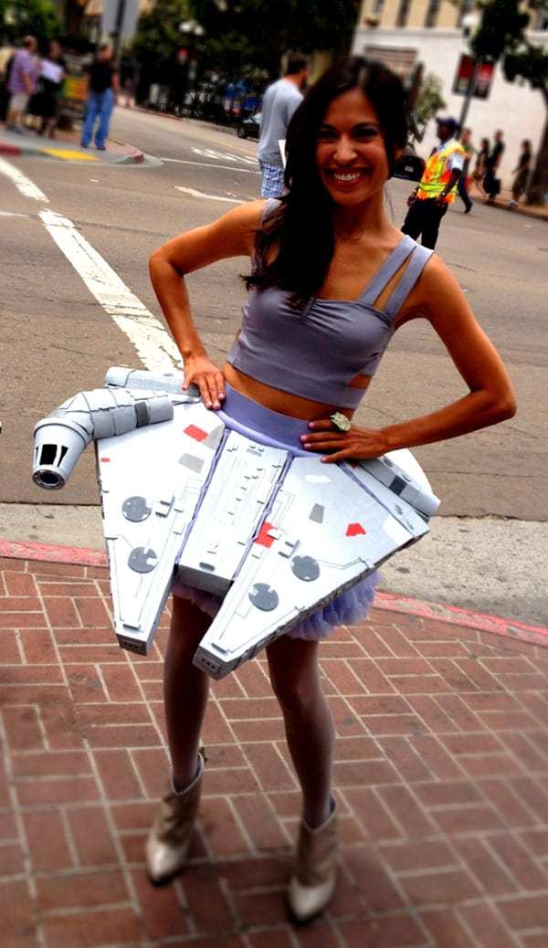 Millennium Falcon Skirt Is All About The Ultimate Fandom