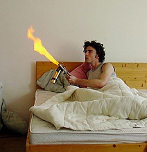 Mosquito Flamethrower Takes Care Of Business