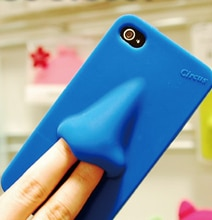 Pick My Nose: Quirky iPhone 4/4S Nose Case