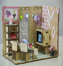 Roominate Dollhouse Lets Her Be A Little Engineer & Architect