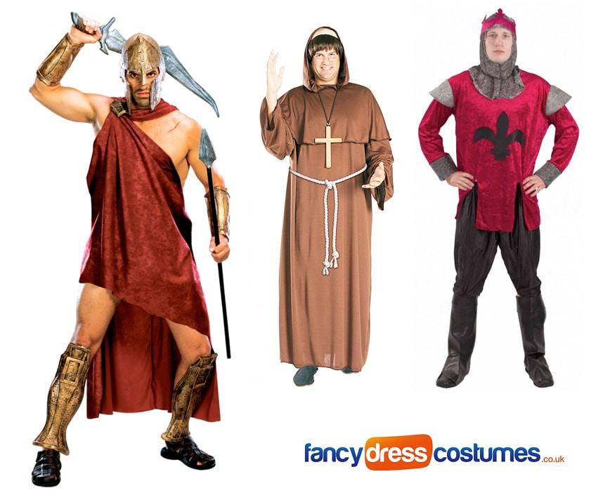 greek god costumes friar