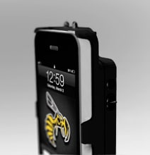 650,000 Volt Stun Gun iPhone 4S Case For Personal Protection