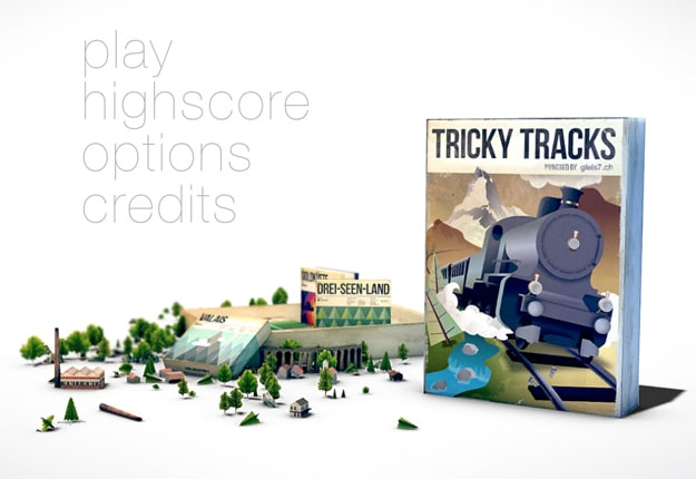 Tricky Tracks Tilt-Shift Game Brings Back Childhood Lego Love