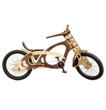Wood Bicycles Will Have You Rolling In Style