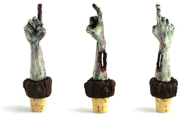 Zombie Wine Bottle Stopper For Horror Nights