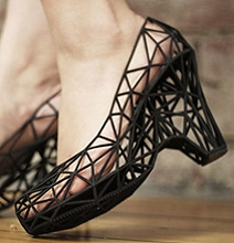 3D Printed Cinderella Shoes: Technology & Fashion Collide