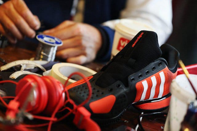 Read Tweets On Your Adidas Social Media Sneakers