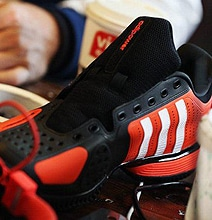 Read Tweets On Your Adidas Social Media Sneakers