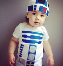 R2-D2 Baby Costume: Definitely The Droid You're Looking For