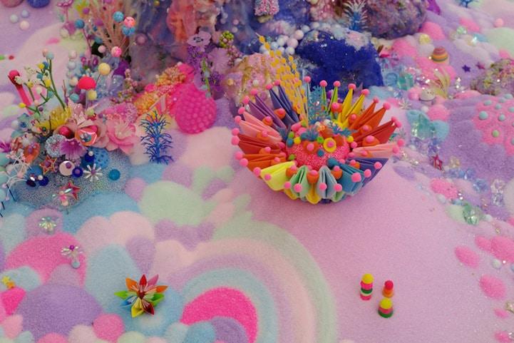 Candy-Art-Floor-Installation